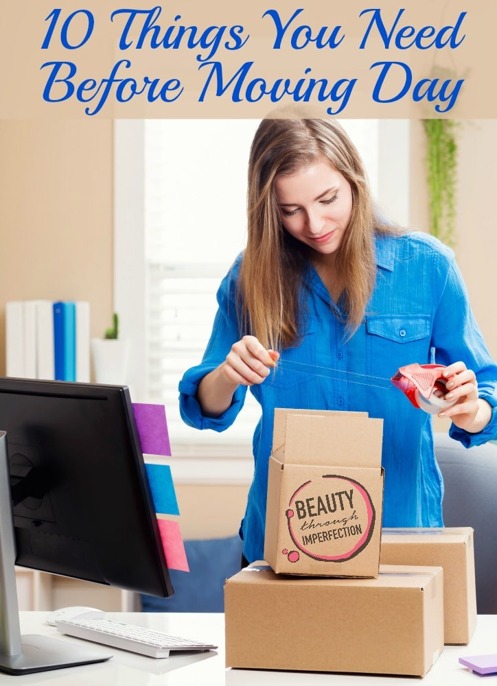 10 things you need before moving day beauty through for Things you need for a new home