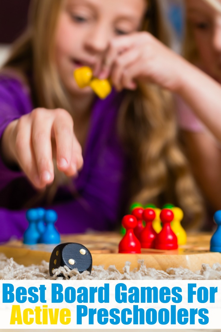 best board games active preschoolers