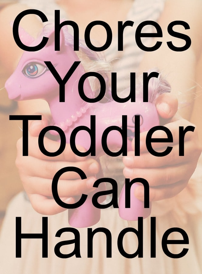 chores your toddlers can handle on their own