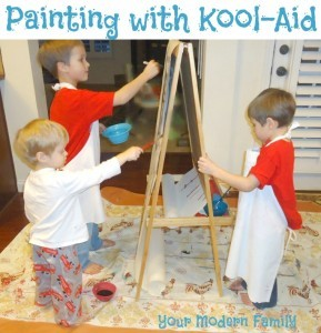 painting-with-kool-aid