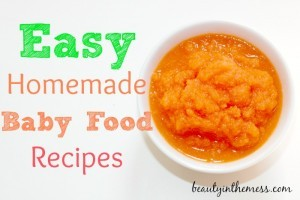 Easy-Homemade-Baby-Food-Recipes