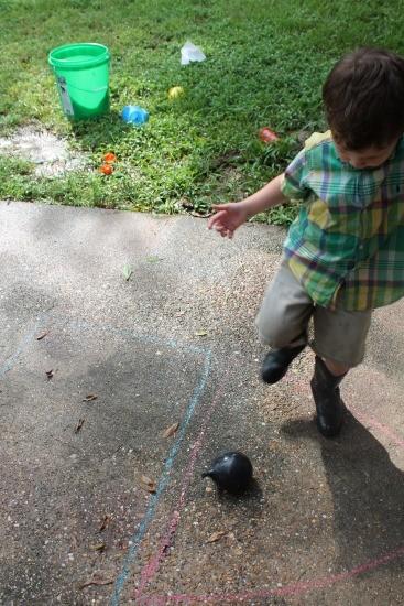 backyard balloon bash
