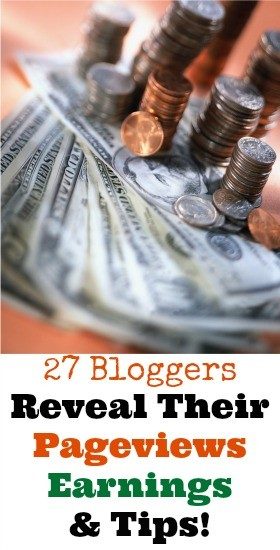 blogger earnings pageviews and tips