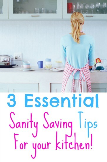 3 Things that keep me sane in the kitchen