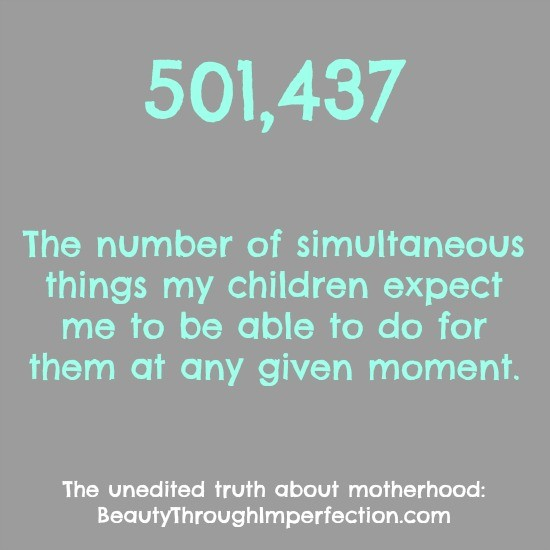 The Unedited Truth About Motherhood