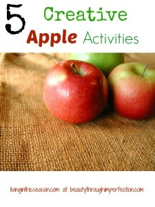 5 Creative Apple Activities for Kids
