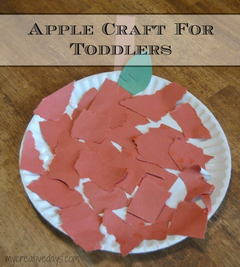 Apple Craft For Toddlers