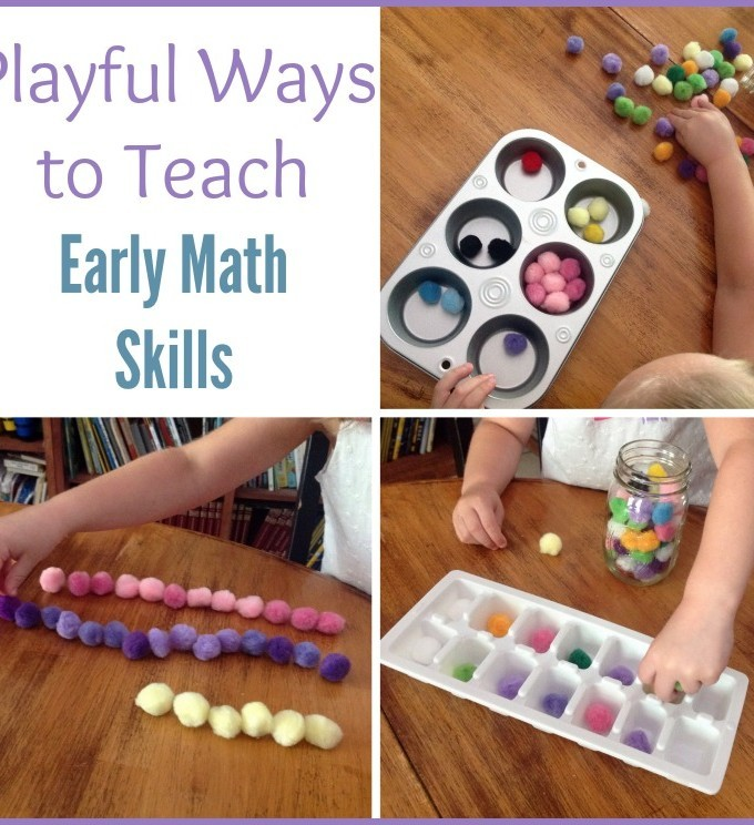 3 Fun ways to teach early math skills