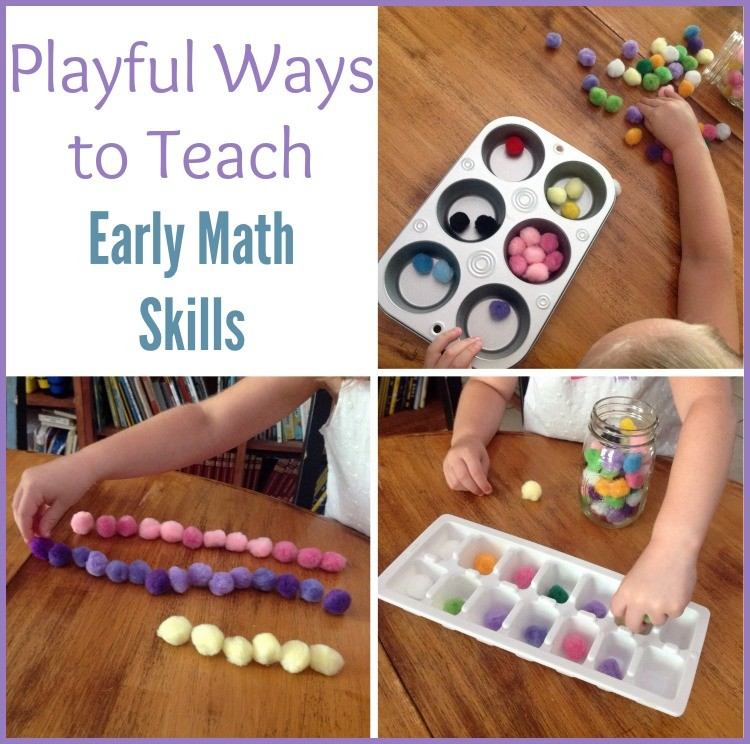 Teach early math skills