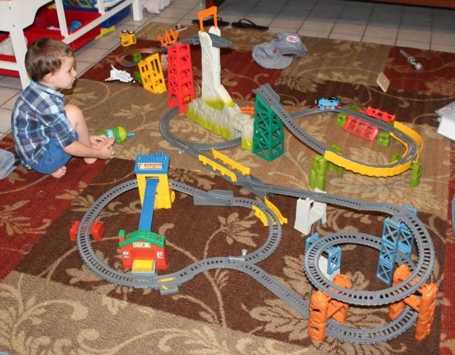 Thomas train birthday party