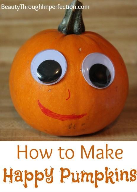 make happy pumpkins