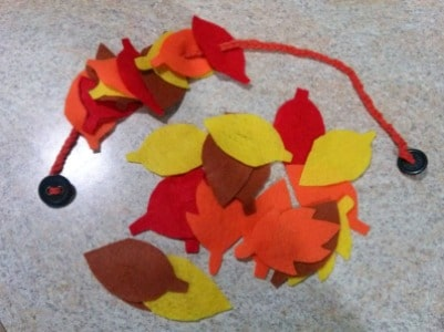 Busy bag ideas for the Fall - perfect quiet play ideas for preschoolers