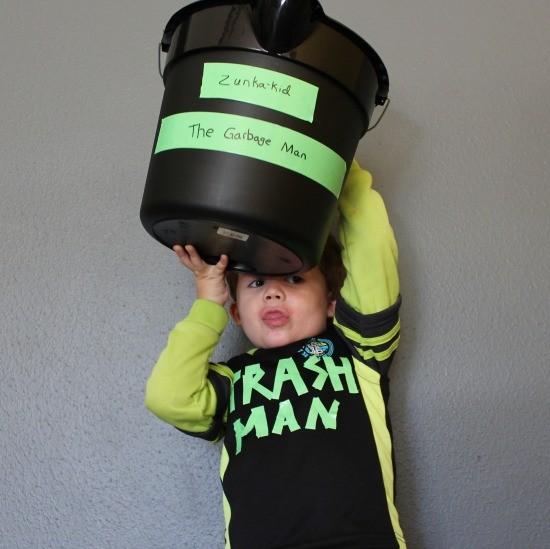 garbage man costume idea