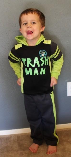 trash man costume diy