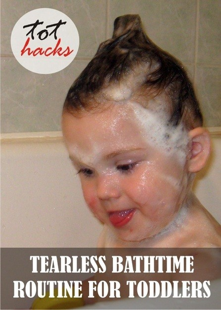 Bath time hacks and Pin it party #75