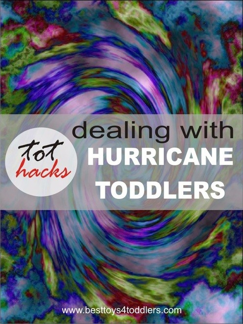 Deal with hurricane toddlers & Pin it party #74