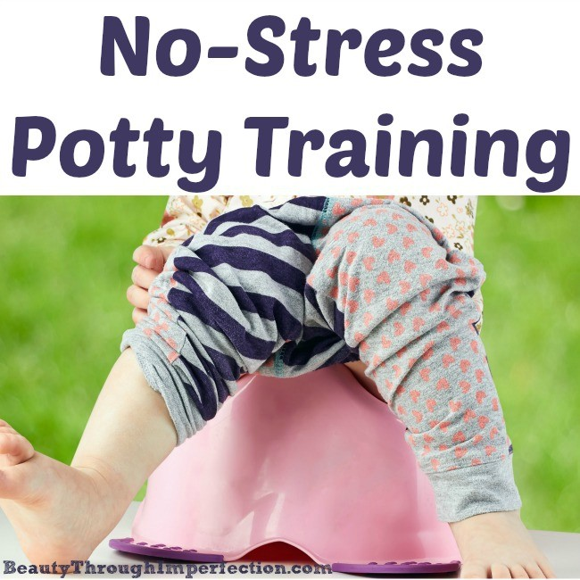 Potty Training {Without Stress}