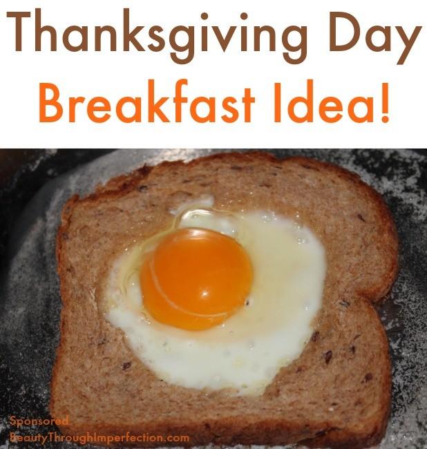 thanksgiving day breakfast idea for kids