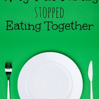 This family stopped eating together