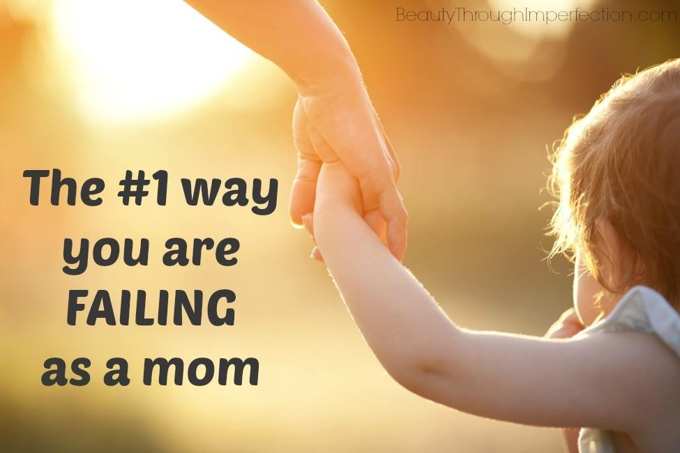 failing as mom