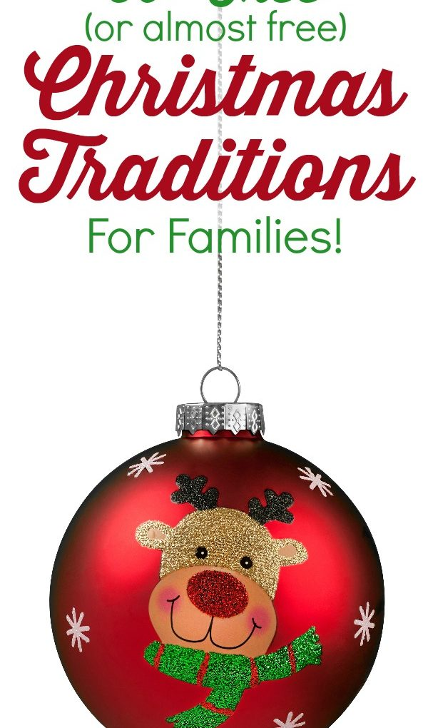 50+ Free (or almost free) Christmas Traditions