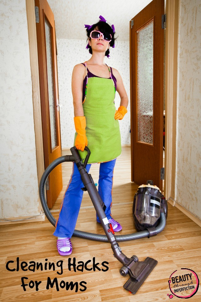 clean the house with kids