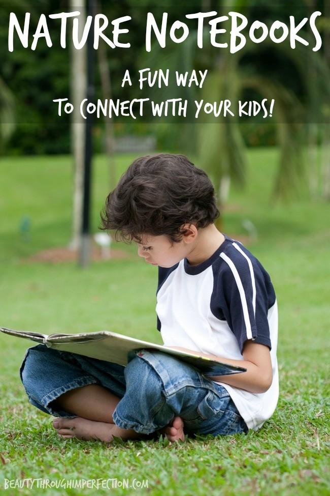 nature notebooks family activity