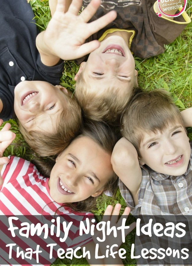 Family Night Activities – That Teach Life Lessons