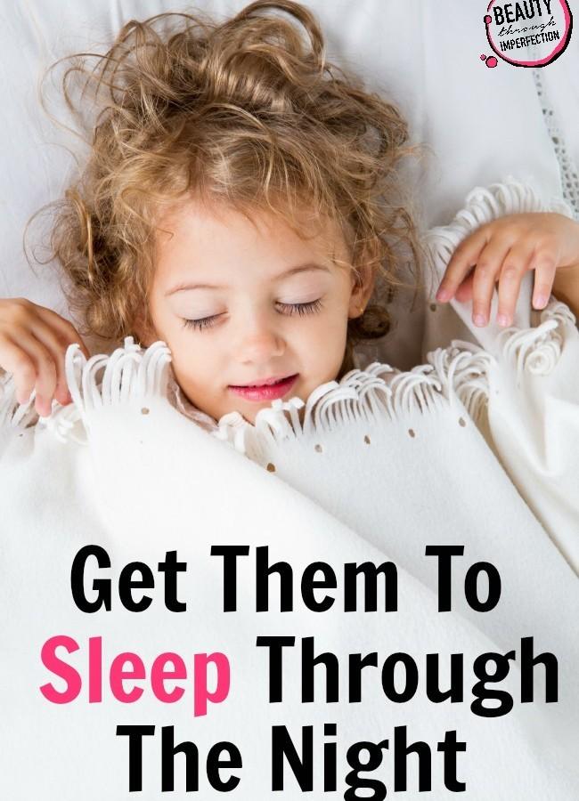 Get Them To Sleep Through The Night