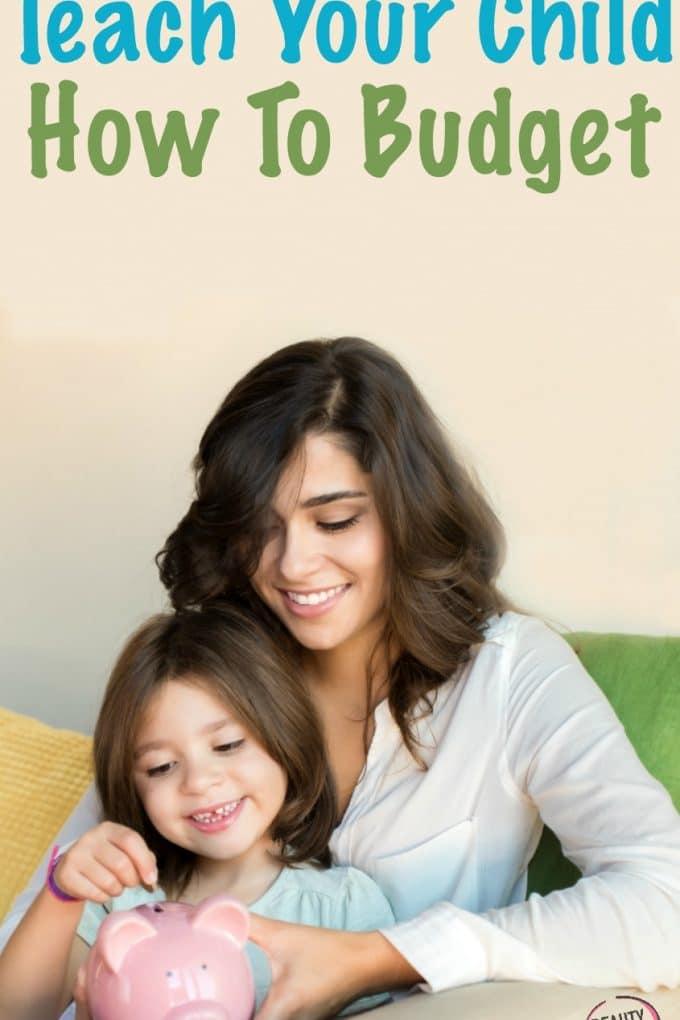 Teaching Kids To Budget