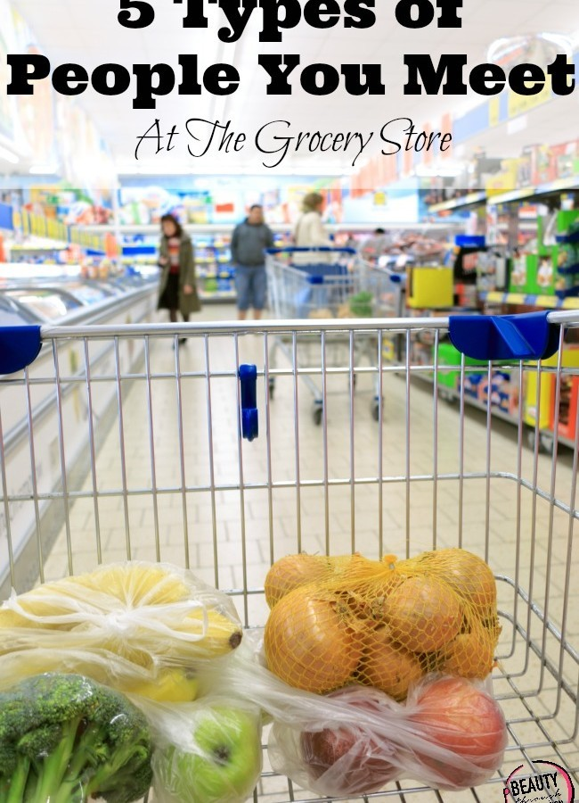 5 Types of People You Meet When Grocery Shopping