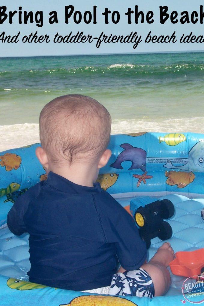 10 Essentials for a kid friendly beach trip
