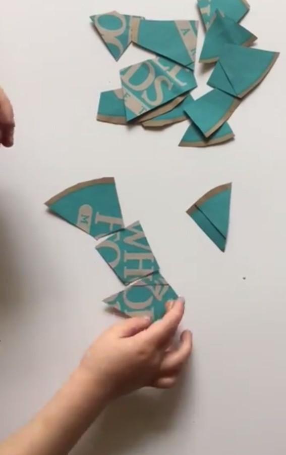 DIY Puzzle {Easy & Free Kid's Activity}
