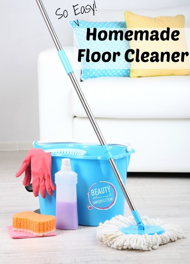 Homemade Floor Cleaner