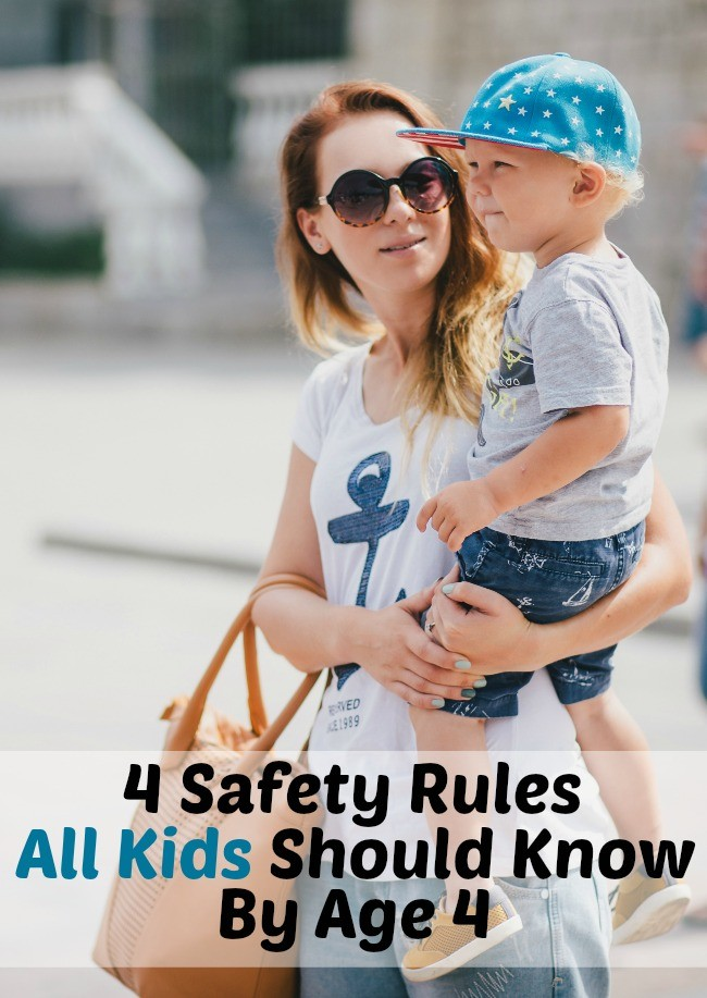 safety rules for all kids
