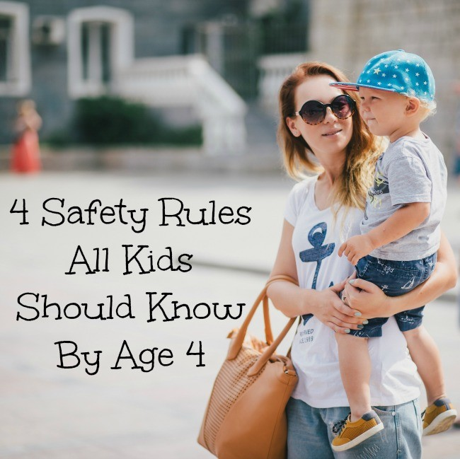 safety rules for kids
