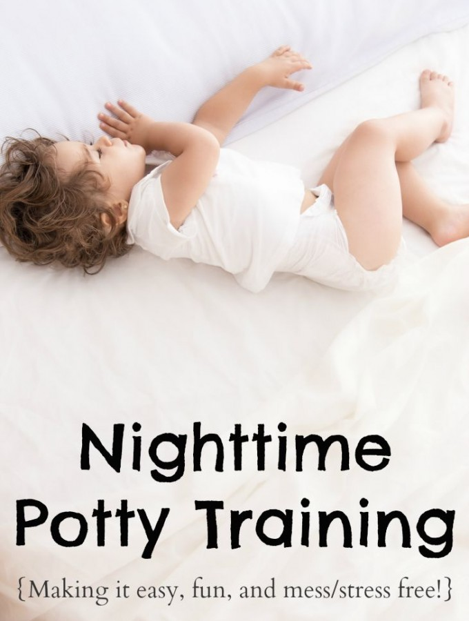 How To Potty Train Through The Night