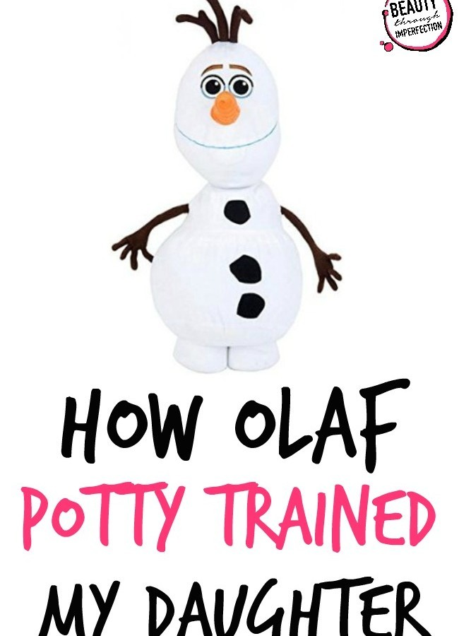 How Olaf Potty Trained My Daughter