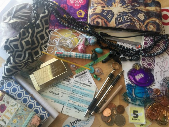 contents of purse