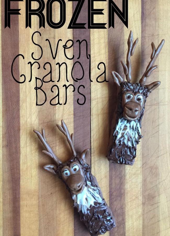 Sven Granola Bars Inspired by – FROZEN