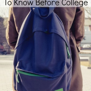 know before college