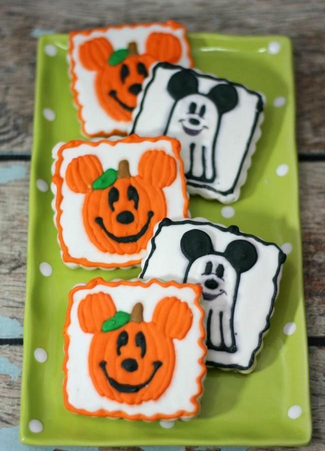 Mickey Inspired Halloween Cookies