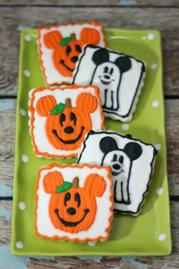 Mickey Inspired Halloween Cookies