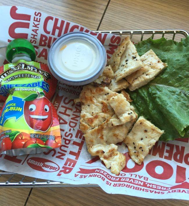 chicken strips kids meal