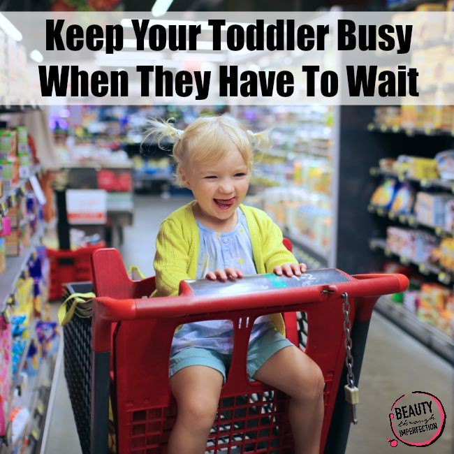 Keeping Kids Busy While Waiting {Sanity-Saving Tips}