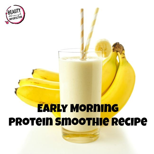 Early Morning Smoothie Recipe