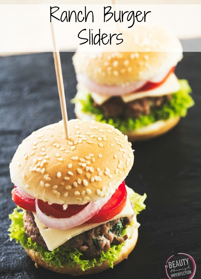 Ranch Burger Sliders