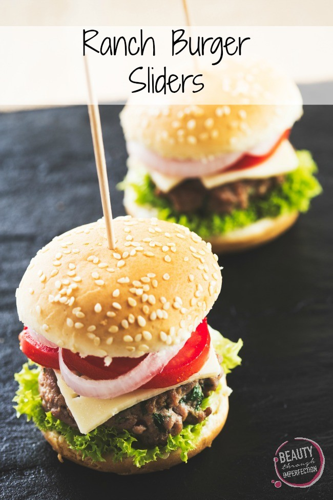 Mini burgers appetizer, beef meat.