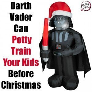 Vader can potty train before christmas