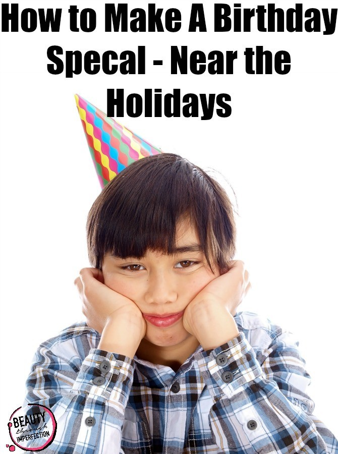 How to make a birthday special – when it falls near a holiday